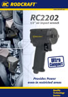 RC2202 1/2'' air impact wrench